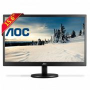 Monitor AOC LED 15.6´´ 1VGA/VESA E1670Swu/WM