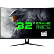 "MONITOR GAMER 32"" CURVO 2.5K 144Hz 1MS FreeSync GAMEMAX GMX32CEWQ"