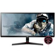 Monitor Gamer LG LED 29´ Ultrawide, Full HD, IPS, HDMI/DP, FreeSync, Som Integrado, 1ms - 29UM69G-B