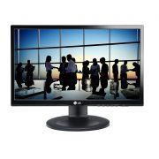 "Monitor LG 21,5"" LED IPS FHD 22mp55pq-p D-sub/dvi/hdmi/vesa/pivot/ajuste de Altura Preto"