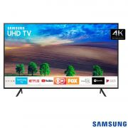 "Smart TV 4K Samsung LED 2018 UHD 55"" HDR Premium  UN55NU7100"