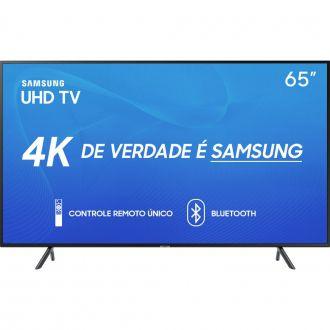 Smart TV LED 65 UHD 4K Samsung UN65RU7100 Bluetooth HDR HDMI