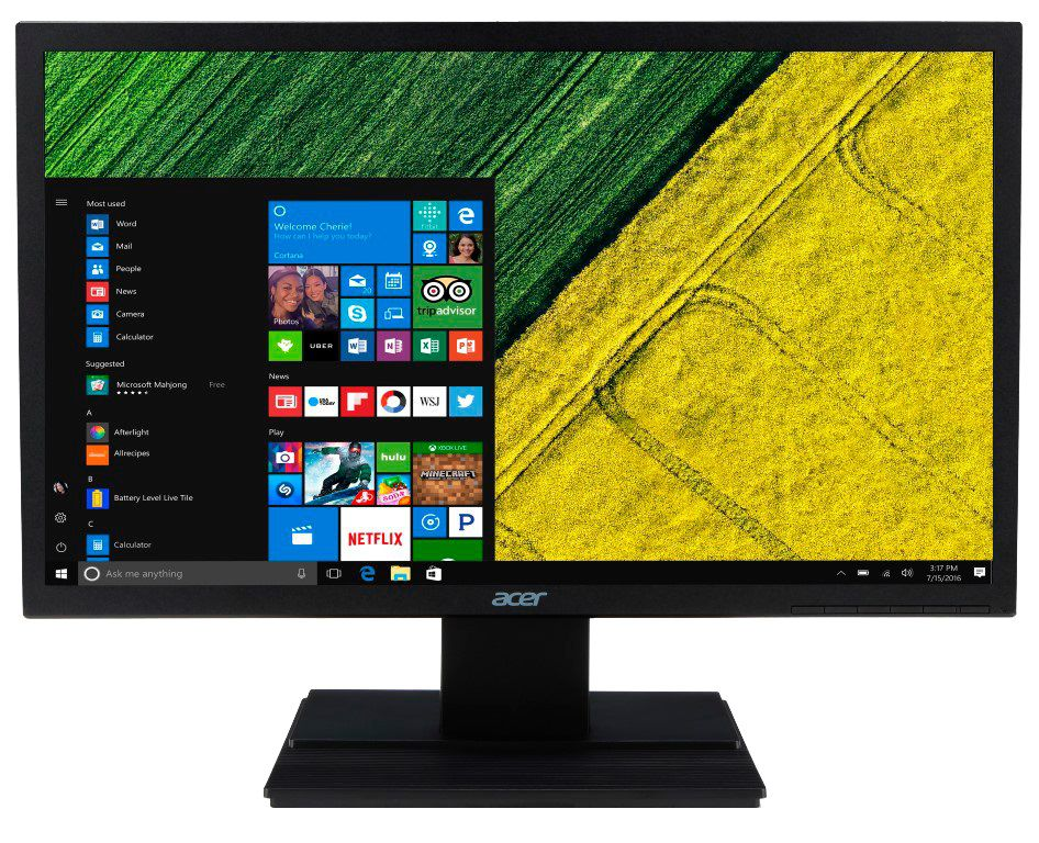 Monitor Acer LED Widescreen 19.5´ HDMI, VGA 5ms, HD, V206HQL