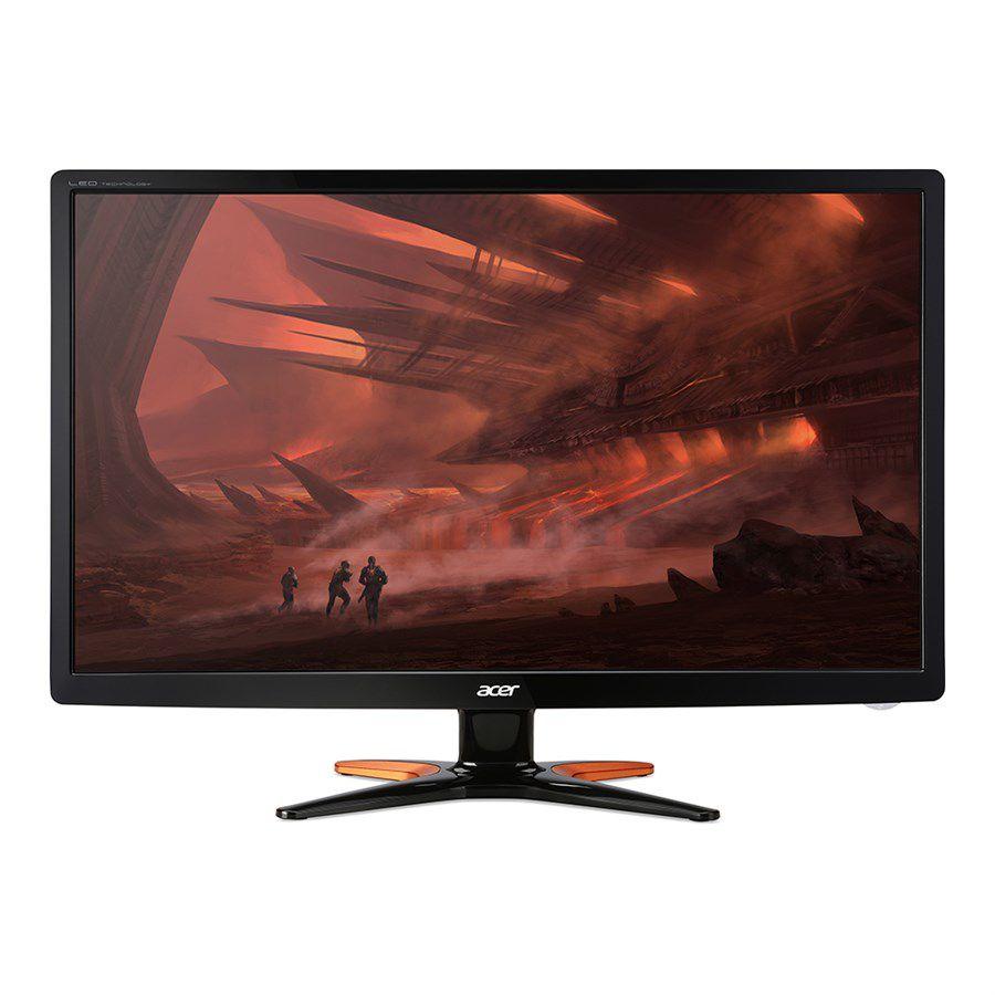 Monitor Gamer Acer 24 LED 3D Full HD 1ms HDMI/DVI/VGA - GN246HL 110/220 Bivolt