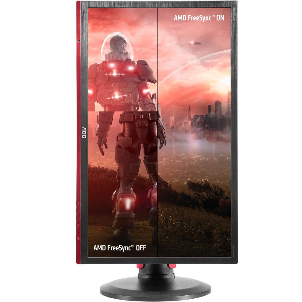 "Monitor Gamer AOC Hero Led 24"" 1ms 144Hz HDMI/DVI/DP G2460PF"
