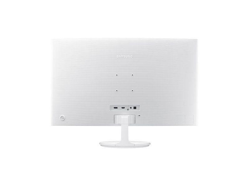 "Monitor LED Curvo 32"" Samsung Branco LC32F391 Full HD Bivolt"