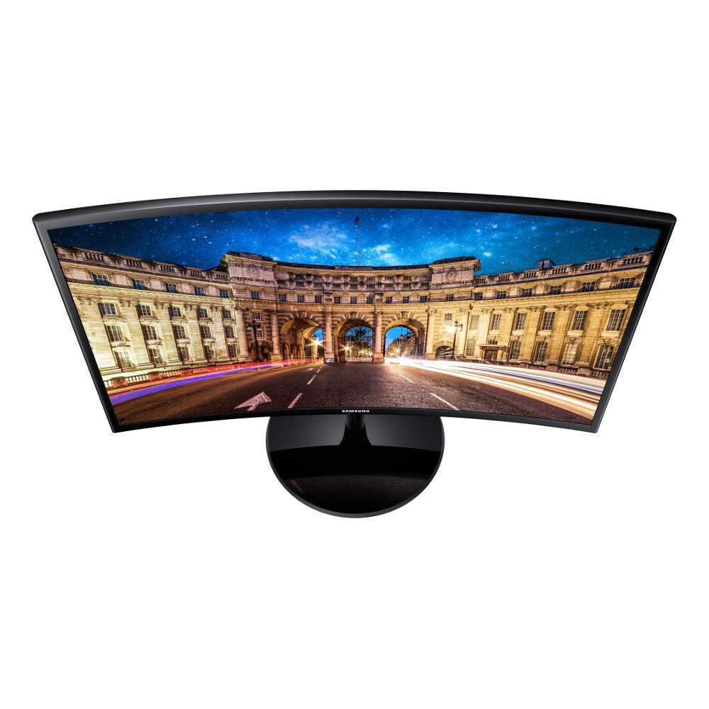 Monitor LED Curvo Samsung Full HD 24 LC24F390FHLM/ZD