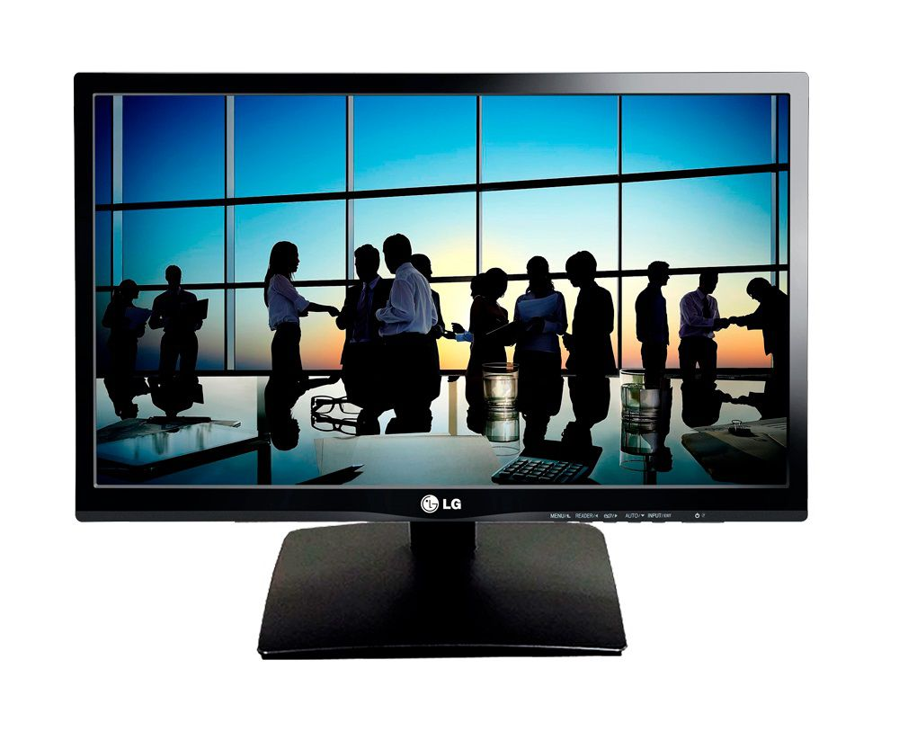 Monitor LG LED 21.5´ IPS Full HD HDMI Modo Leitura Flicker Safe Super Energy Saving 22MP55VQ