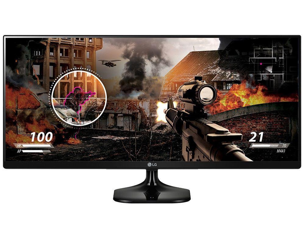 Monitor LG LED 25´ Class 21:9 UltraWide IPS FHD - 25UM58-P