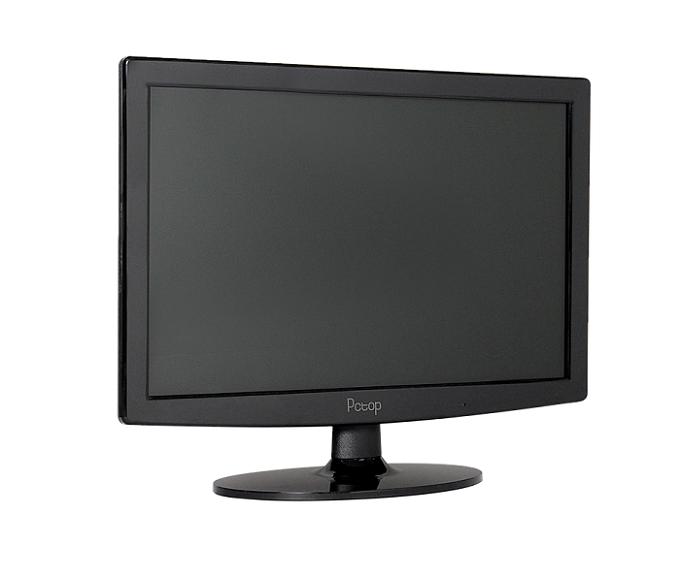 Monitor Pctop Slim 15,6 Led Vga/Hdmi/Vesa Preto - Mlp156hdmi