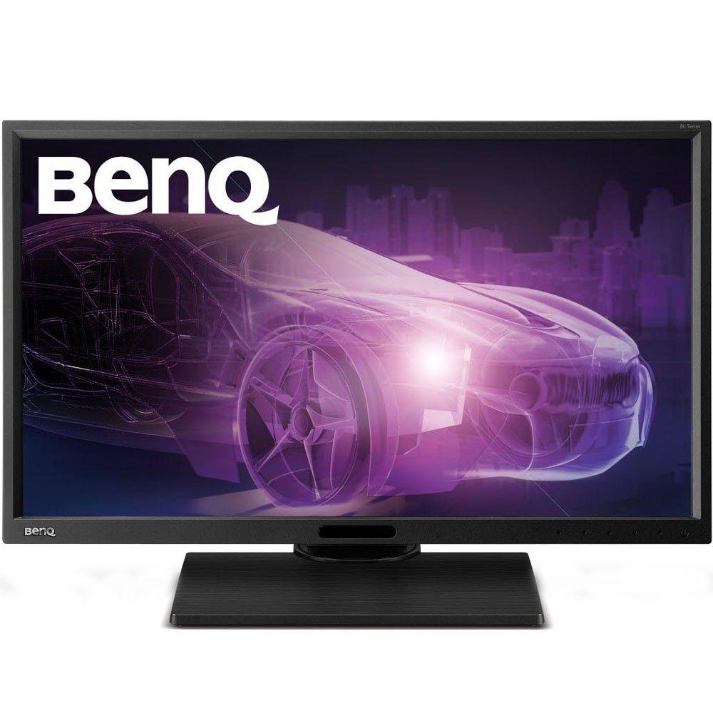 "Monitor Profissional BenQ 23.8""  2K Qhd IPS sRGB 100%LED Ajuste de Altura USB 2.0 Preto BL2420PT"