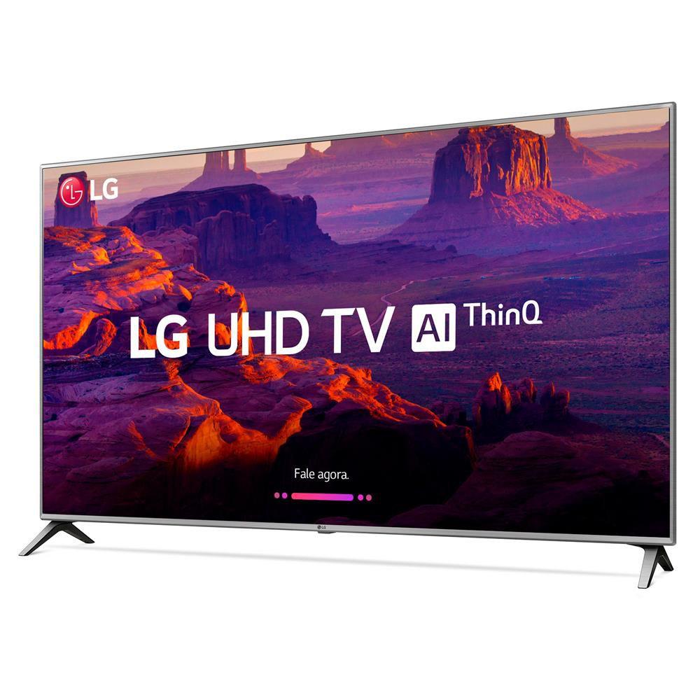 """Smart TV 43"""" 4K LG UHD 43UK6520 IPS ThinQ AI WI-FI HDR10 Pro"""