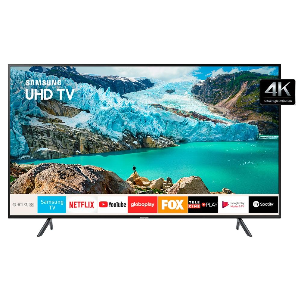 Smart TV 43 UHD 4K Samsung HDMI USB Bluetooth HDR UN43RU7100