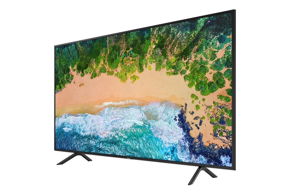 "Smart TV 4K Samsung LED UHD 40"" HDR Tizen Wi-Fi UN40NU7100"
