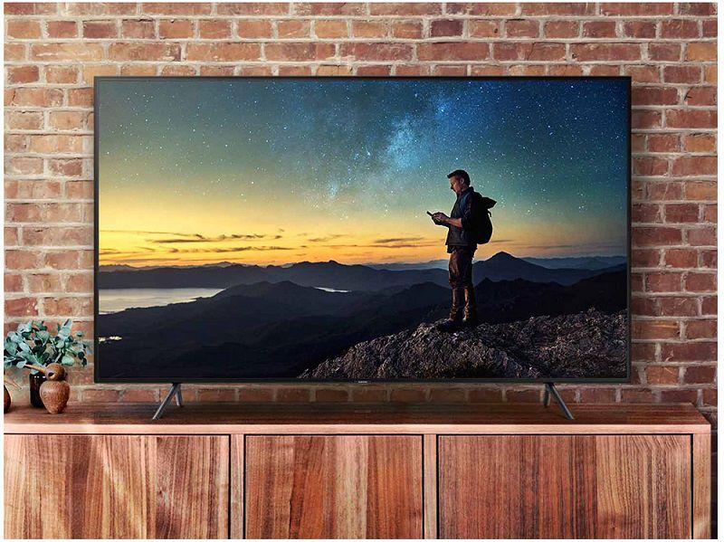 "Smart TV 4K Samsung LED UHD 50"" HDR Wi-Fi, 3 HDMI UN50NU7100"