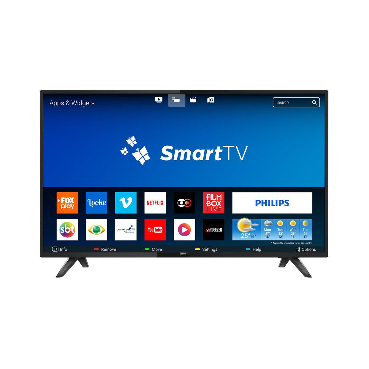 Smart TV LED 32 Philips 32PHG5813/78 HD 2HDMI 2USB Wifi 60hz