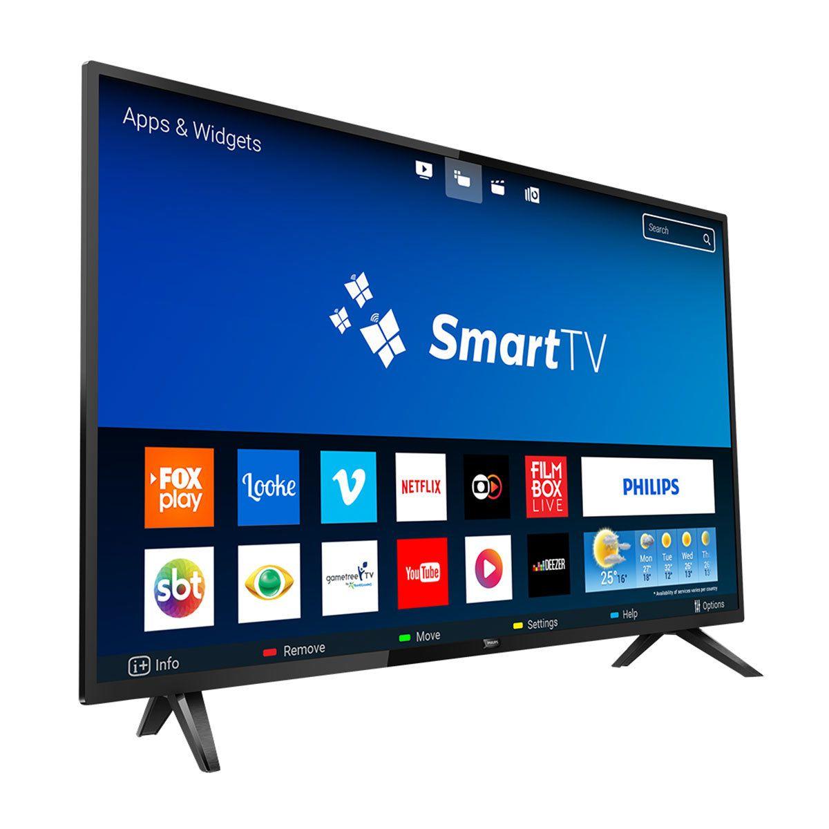 Smart TV LED 32 Philips 32PHG5813/78 HD 2HDMI 2USB Wifi 60hz