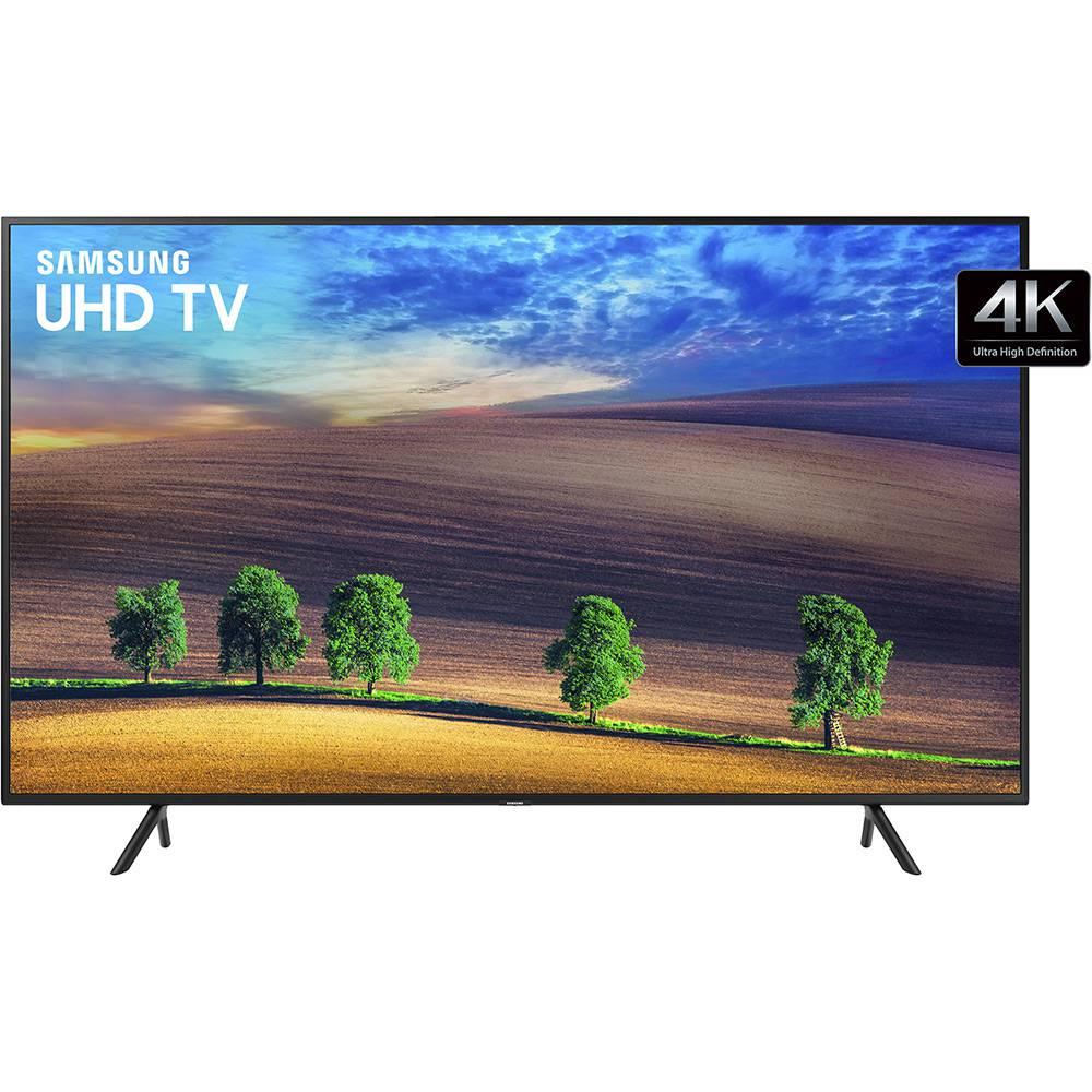 "Smart TV LED 49"" Samsung UHD 4k UN49NU7100, 3 HDMI Wi-Fi HDR"