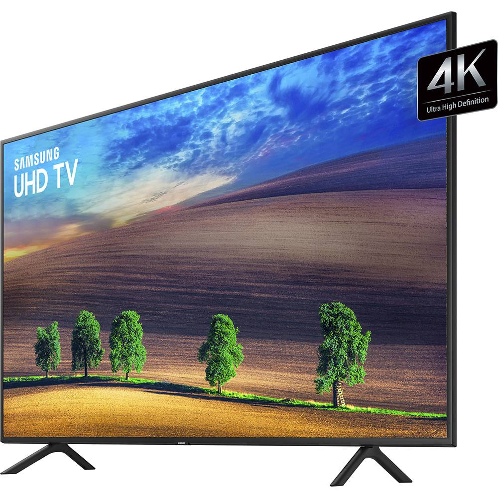 "Smart TV LED 49"" Samsung UHD 4k UN49NU7100, 3 HDMI Wi-Fi HDR"