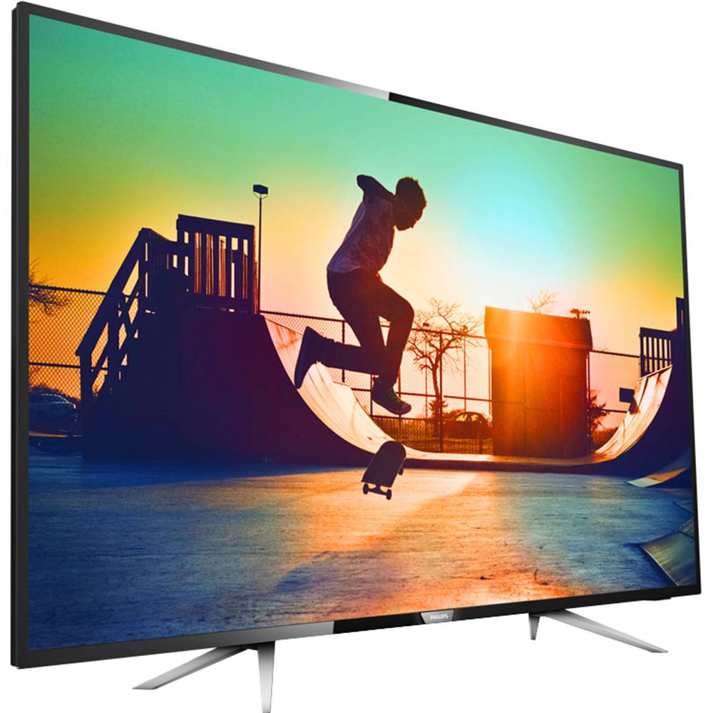 "Smart TV LED 50"" UHD 4K Philips 50PUG6102 com Micro Dimming, Pixel Plus, Incredible Surround, HDMI e USB"