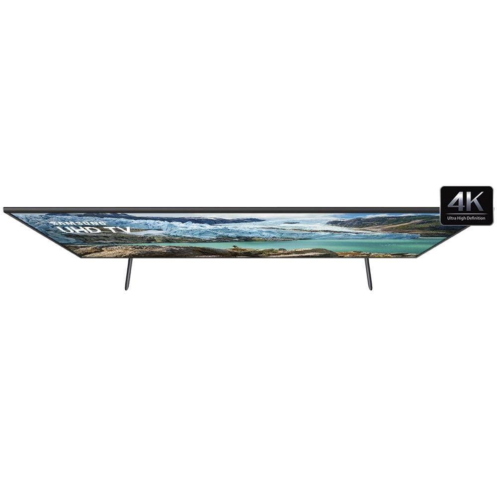 Smart TV LED 55 UHD 4K Samsung UN55RU7100 3 HDMI 2 USB Wi-Fi