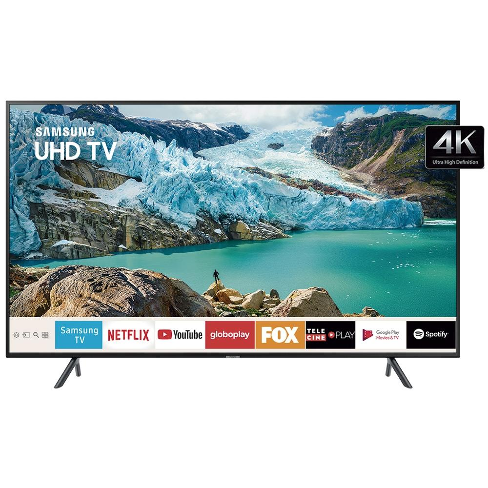 Smart TV LED 75 UHD 4K Samsung HDMI USB Bluetooth UN75RU7100