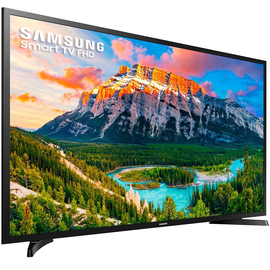 "Smart TV Samsung 40"" LED FHD 1 USB, 2 HDMI Wi-Fi UN40J5290AG"