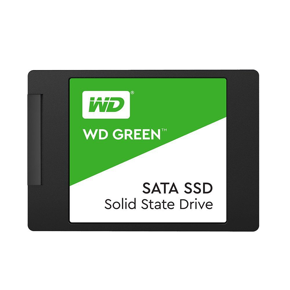 SSD WD Green, 240GB, SATA, Leitura 545MB/s WDS240G2G0A