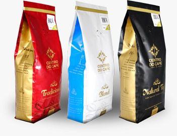 Combo com três unidades, uma de cada café, 500 gr, moído.  - Centro do Café Carmo de Minas