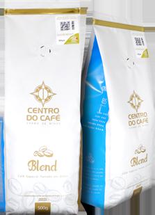 Combo de 4 Unidades do Blend 500 gr em Grãos  - Centro do Café Carmo de Minas