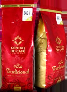 Combo de 4 Unidades do Tradicional 500 gr em Grãos  - Centro do Café Carmo de Minas
