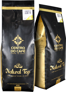 Combo de 8 Unidades do Natural Top 250 gr moído  - Centro do Café Carmo de Minas