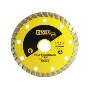 "Disco Diamantado Turbo Pro 4.3/8"" Dtools"
