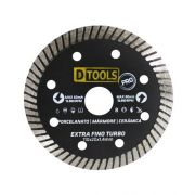 Disco Diamantado Extra Fino Turbo Dtools 110x20x1,4mm