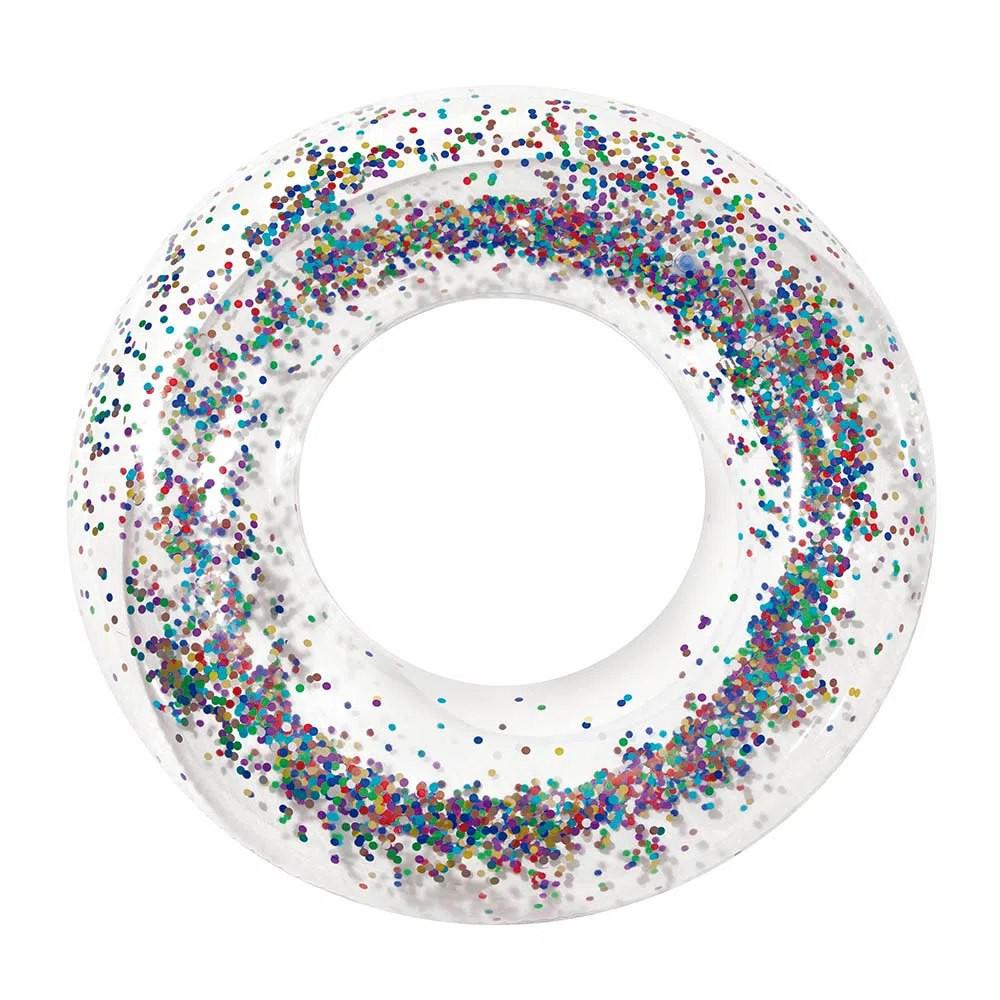 Boia Inflável com Glitter Sortido