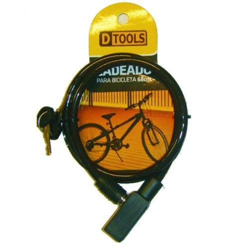 Cadeado para Bicicleta 8x680mm Dtools