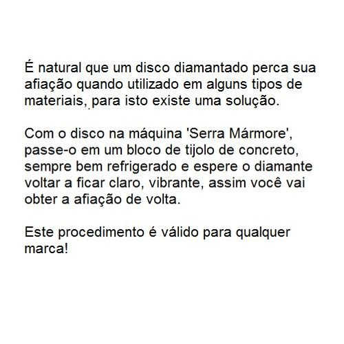 Disco Diamantado Extra Fino Turbo Dtools 110x20x1,4mm  - Loja Jurerê