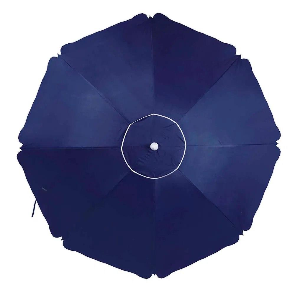 Guarda-Sol Alumínio 2,60m Azul