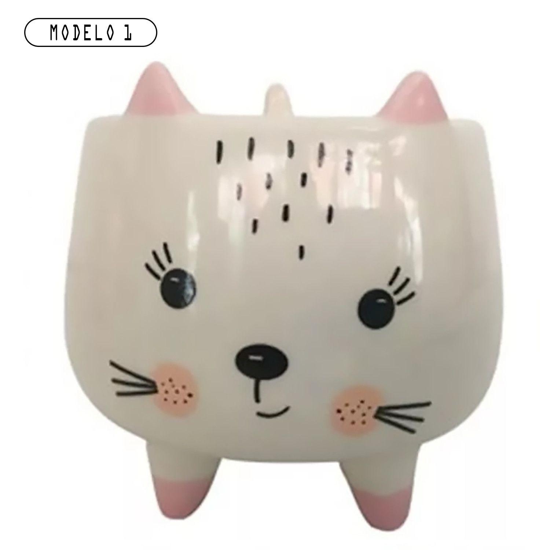 Mini Porta Objetos Bichinhos Porcelana  - Loja Jurerê