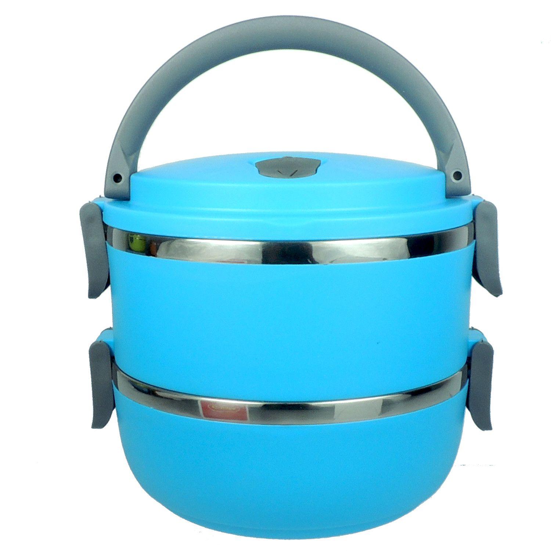 Marmita Color Dupla de Inox c/ Revestimento Plástico  - Loja Jurerê