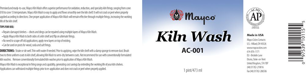 AC001 - KILN WASH PINT (473mL)