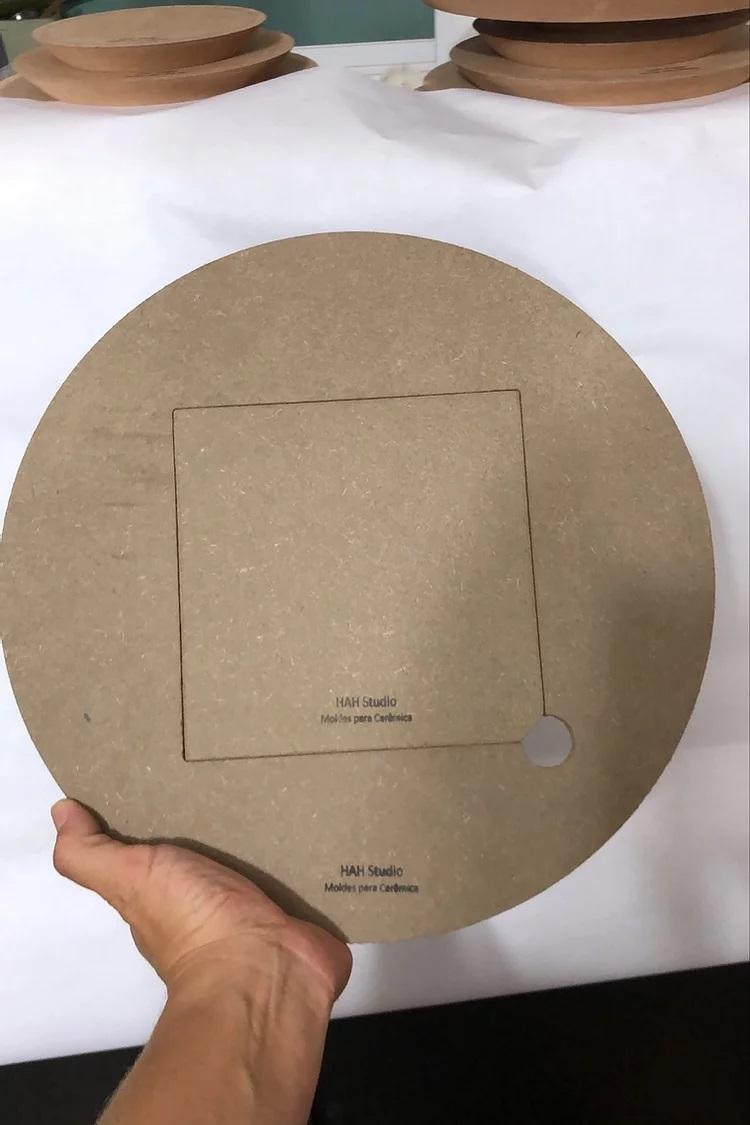 Disco para Torno 30cm com 10 miolos