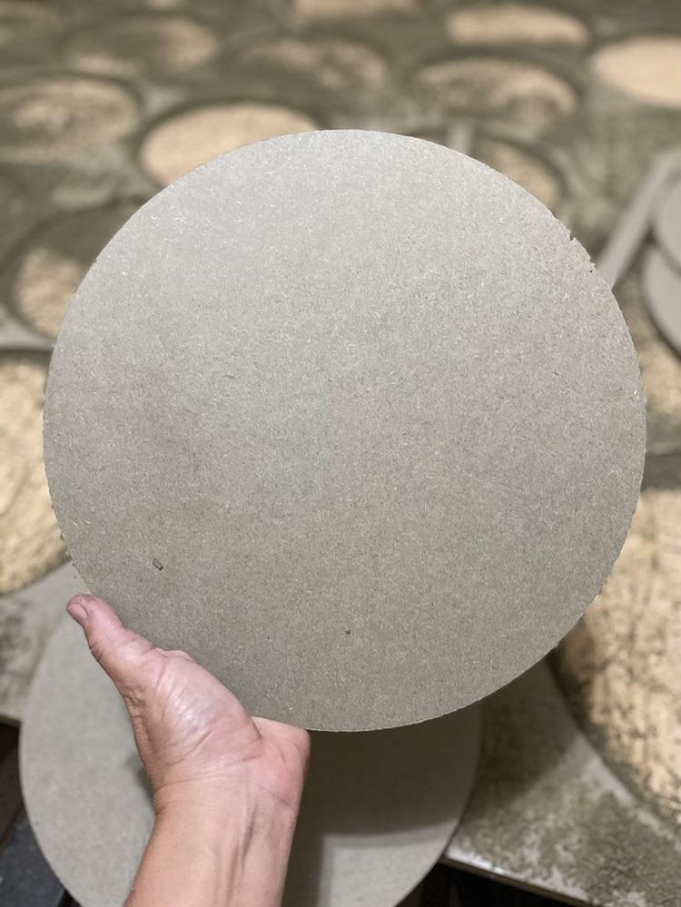 Disco para Torno 35cm 9mm