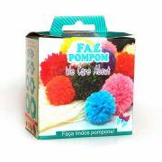 Kit Faz Pompom Com 4 Tamanhos
