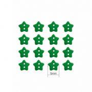 Mini Botão Estrela - 40 Unidades