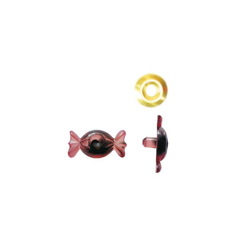 Botão Bombom - Com Rebite