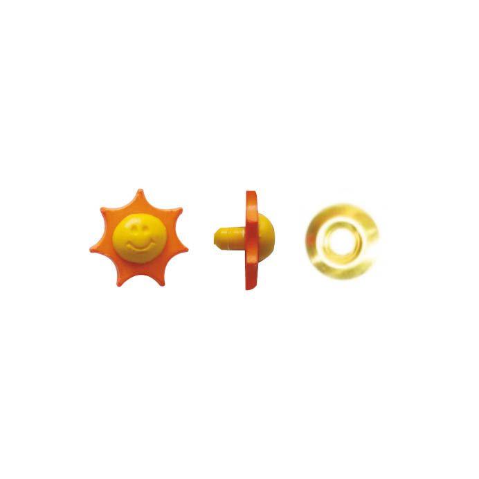 Botão Sol - Com Rebite.