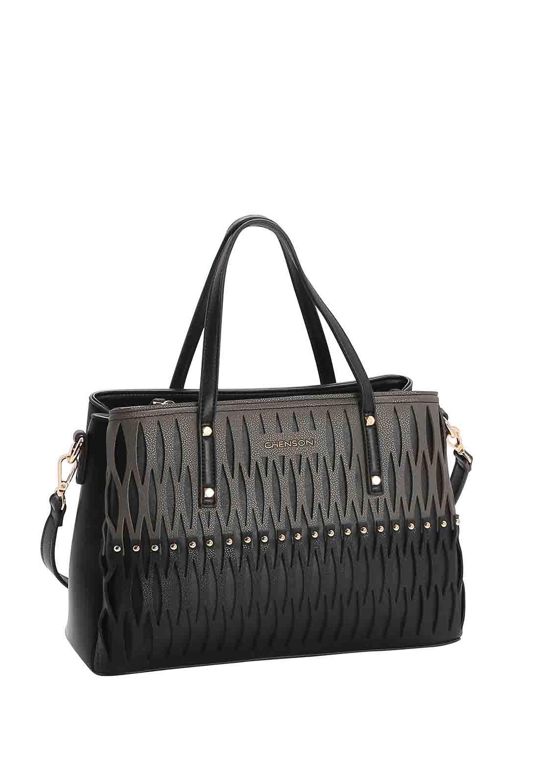 Bolsa Feminina Chenson Bicolor De Mão 3482991