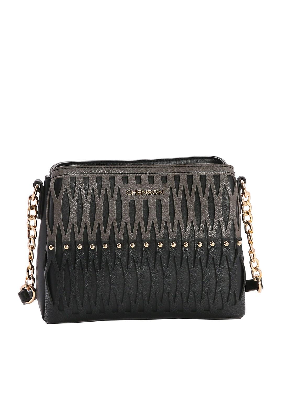 Bolsa Feminina Chenson Bicolor Transversal 3482992