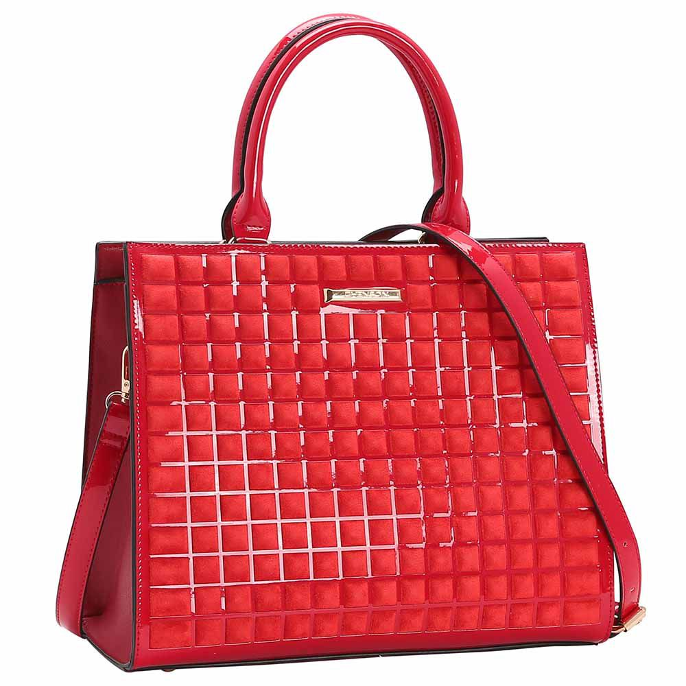 Bolsa Feminina Chenson Camurça de Mão 3483044